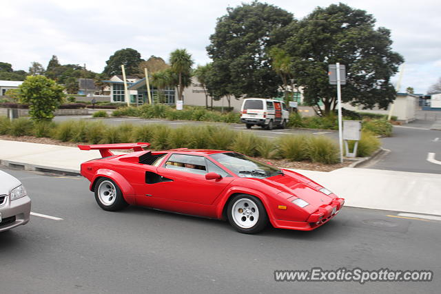 Lamborghini Countach spotted in Auckland, New Zealand