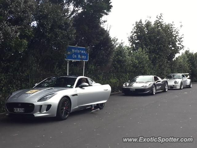 Jaguar F-Type spotted in Auckland, New Zealand