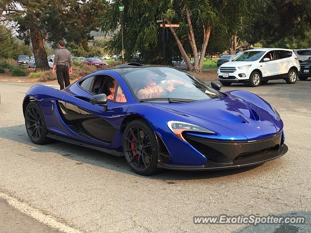 Mclaren P1 spotted in Carmel, California