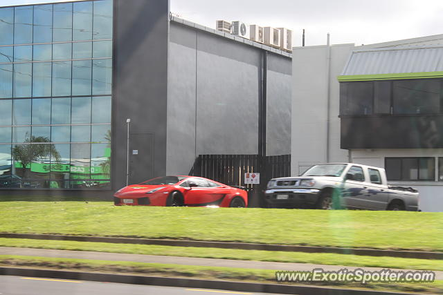 Lamborghini Gallardo spotted in Auckland, New Zealand