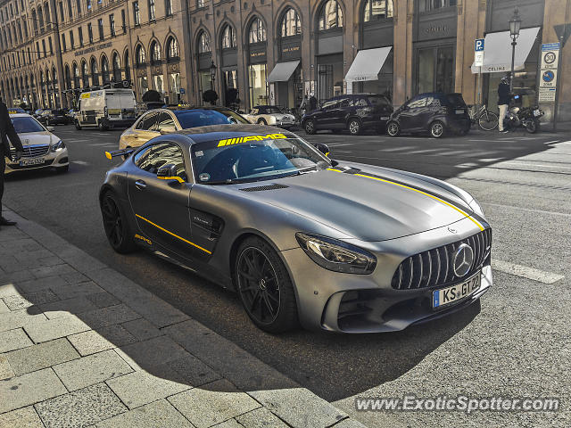 Mercedes AMG GT spotted in Munich, Germany