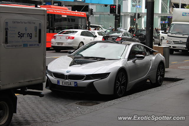 BMW I8 spotted in Auckland, New Zealand