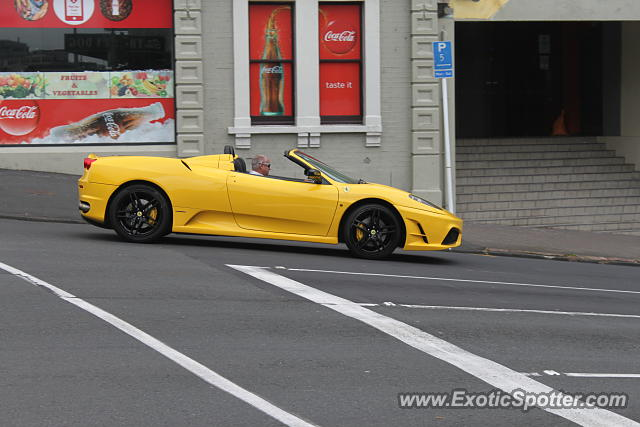 Ferrari F430 spotted in Auckland, New Zealand