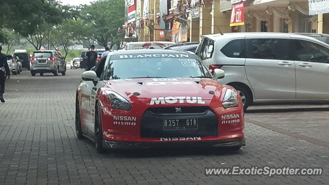 Nissan GT-R spotted in Tangerang, Indonesia