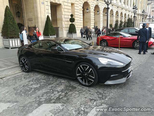 Aston Martin Vanquish spotted in Paris, France