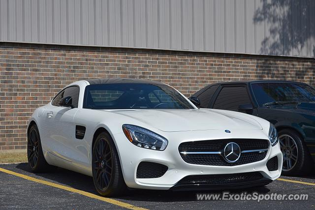 Mercedes AMG GT spotted in Lake Forest, Illinois