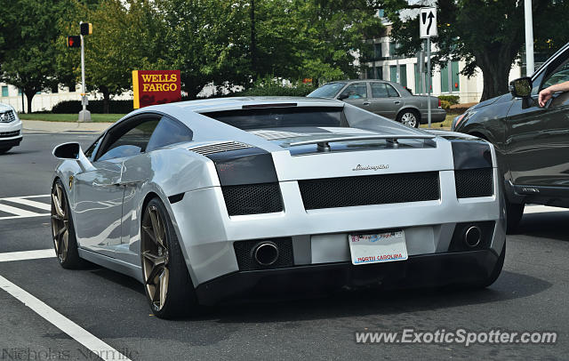 Lamborghini Gallardo spotted in Charlotte, North Carolina