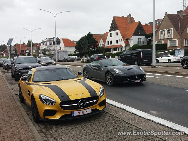 Mercedes AMG GT spotted in Duinbergen, Belgium