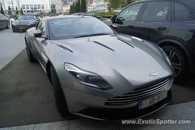 Aston Martin DB11 spotted in Knokke, Belgium
