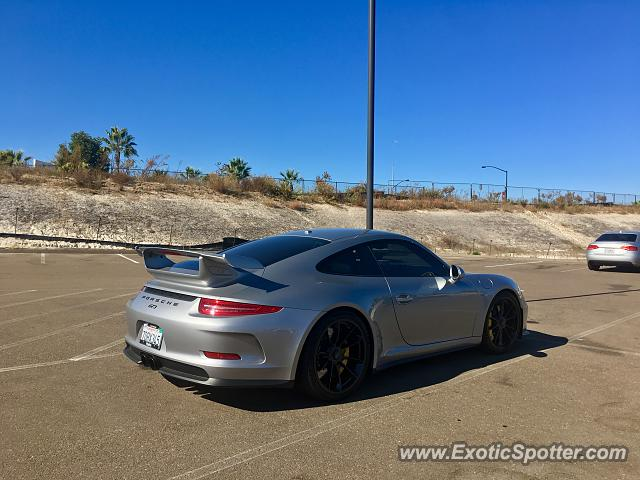 Porsche 911 GT3 spotted in Del Mar, California