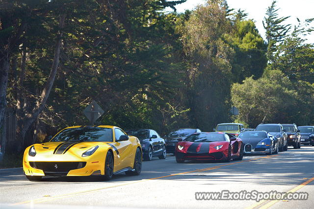 Bugatti Veyron spotted in Carmel, California