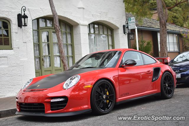 Porsche 911 GT2 spotted in Carmel, California