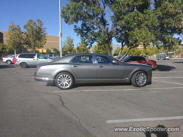 Bentley Mulsanne spotted in Albuquerque, New Mexico