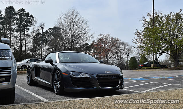 Audi R8 spotted in Cary, North Carolina