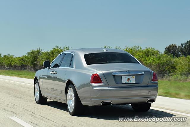 Rolls-Royce Ghost spotted in Hobe Sound, Florida