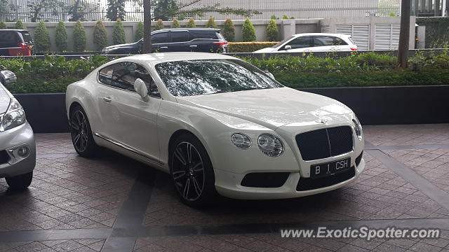 Bentley Continental spotted in Jakarta, Indonesia