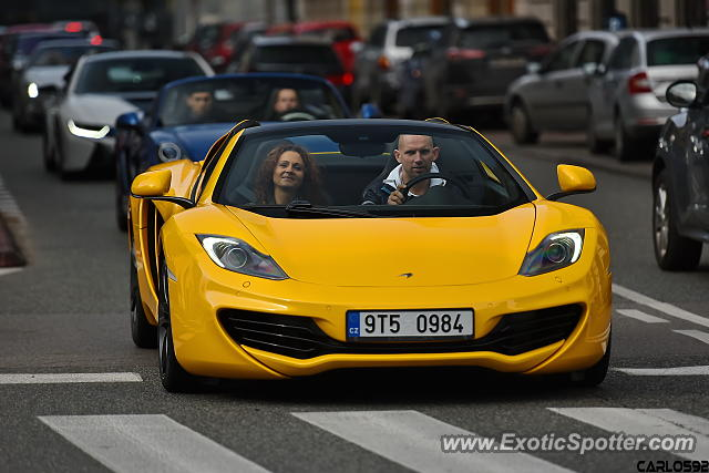 Mclaren MP4-12C spotted in Warsaw, Poland