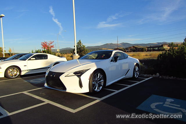 Lexus LC 500 spotted in Spokane Valley, Idaho
