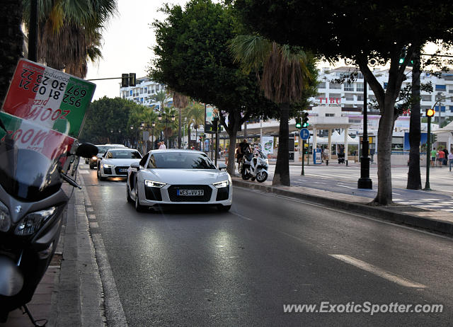 Audi R8 spotted in Puerto Banus, Spain
