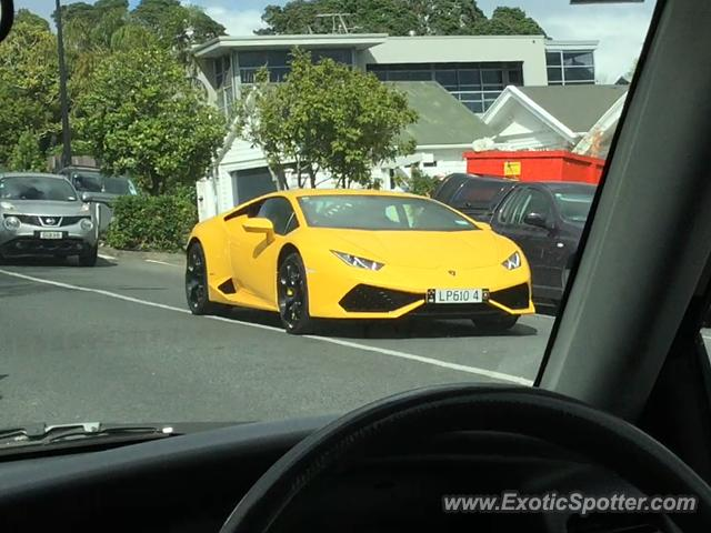 Lamborghini Huracan spotted in Newmarket, New Zealand