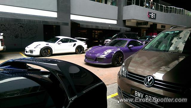 Porsche 911 GT3 spotted in Kuala Lumpur, Malaysia