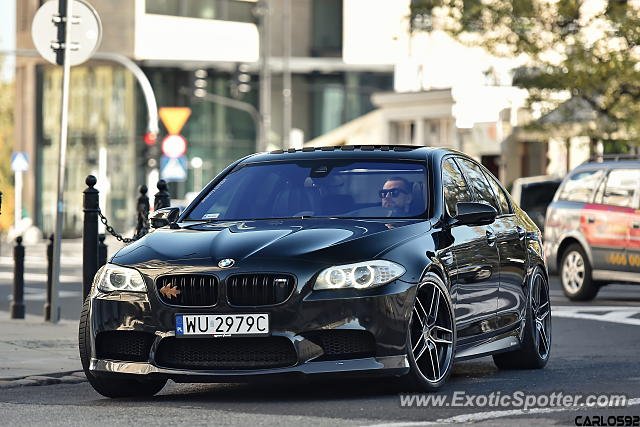BMW M5 spotted in Warsaw, Poland