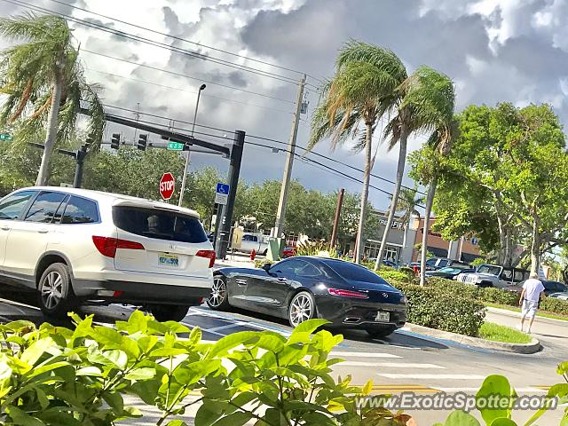 Mercedes AMG GT spotted in Ft Lauderdale, Florida