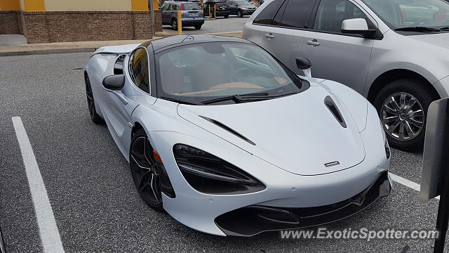 Mclaren 720S spotted in Camp Hill, Pennsylvania