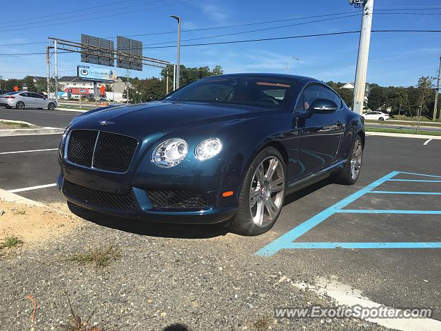 Bentley Continental spotted in Rehoboth Beach, Delaware