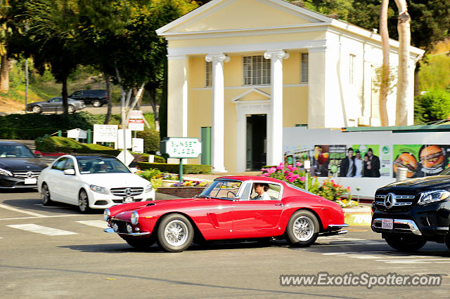 Ferrari 250 spotted in West Hollywood, California