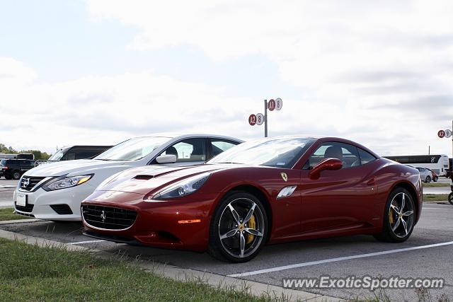 Ferrari California spotted in Austin, Texas