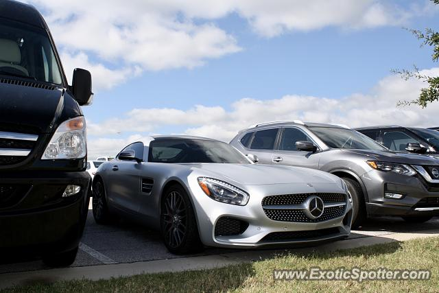 Mercedes AMG GT spotted in Austin, Texas