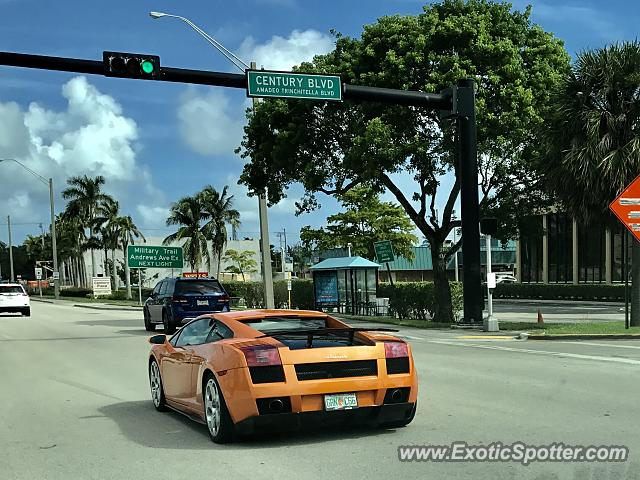 Lamborghini Gallardo spotted in Deerfield Beach, Florida