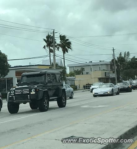 Mercedes 4x4 Squared spotted in Ft Lauderdale, Florida