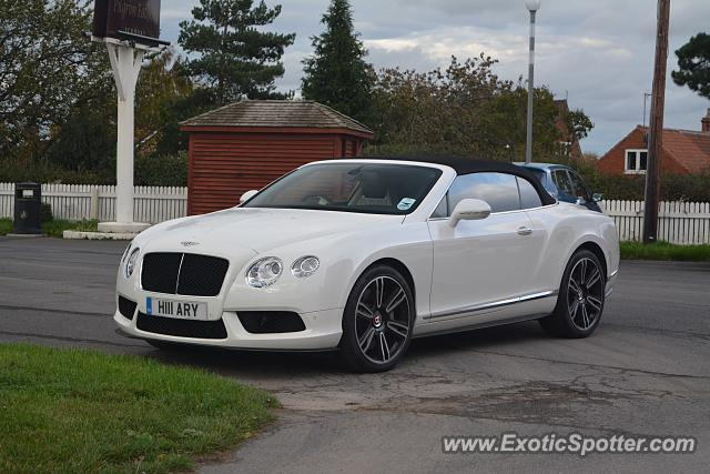 Bentley Continental spotted in Scrooby, United Kingdom