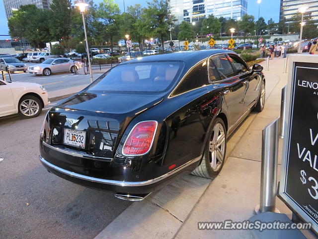 Bentley Mulsanne spotted in Atlanta, Georgia