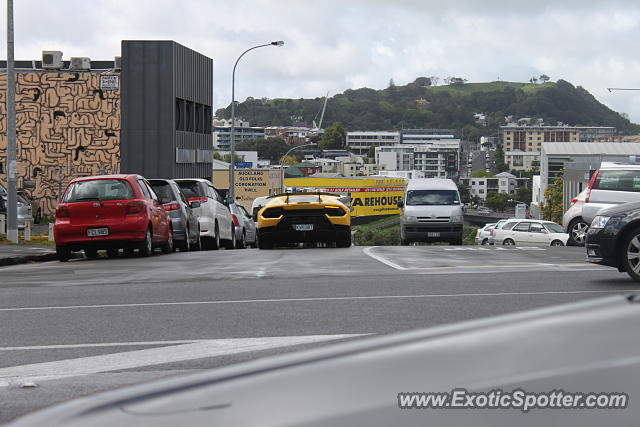 Lamborghini Huracan spotted in Auckland, New Zealand