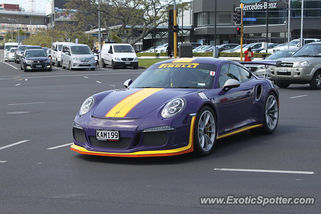 Porsche 911 GT3 spotted in Auckland, New Zealand