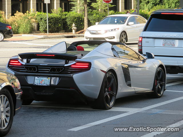 Mclaren 650S spotted in Atlanta, Georgia