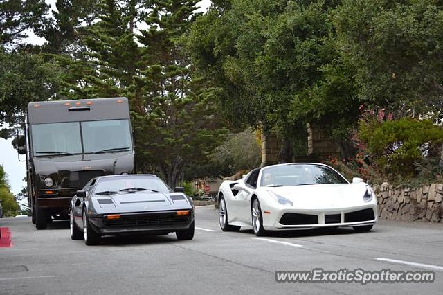Ferrari 488 GTB spotted in Carmel, California