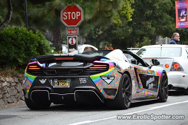 Mclaren 650S spotted in Carmel, California