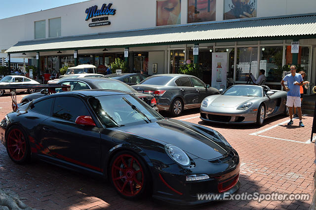 Porsche 911 GT3 spotted in Malibu, California