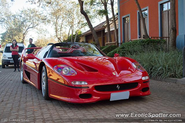 Ferrari F50 spotted in Itatiba, SP, Brazil