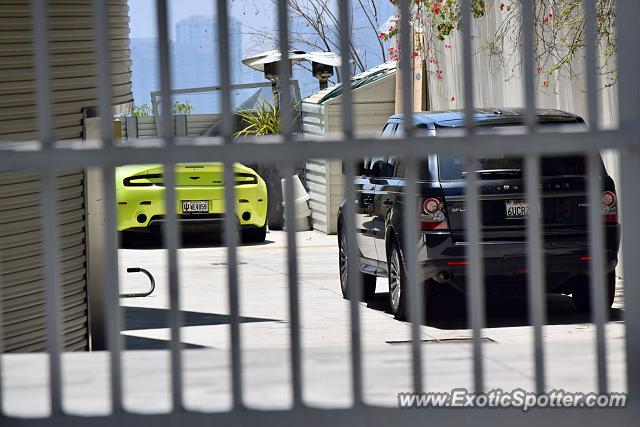 Aston Martin Vantage spotted in Beverly Hills, California