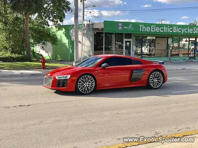 Audi R8 spotted in Ft Lauderdale, Florida