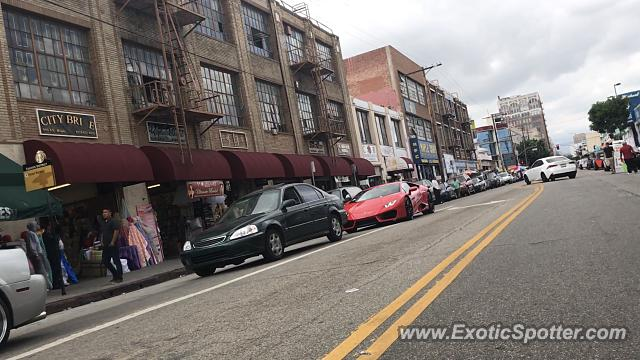 Lamborghini Huracan spotted in Los Angeles, California
