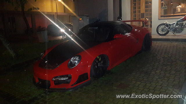 Porsche 911 Turbo spotted in Serpong, Indonesia