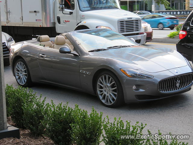 Maserati GranCabrio spotted in Atlanta, Georgia