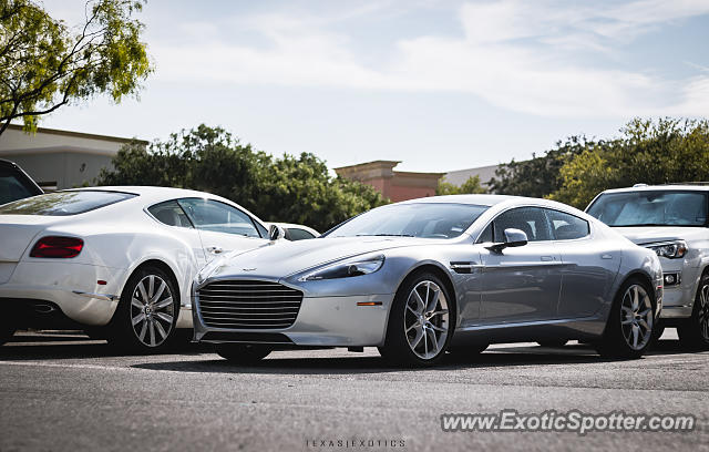 Aston Martin Rapide spotted in San Antonio, Texas
