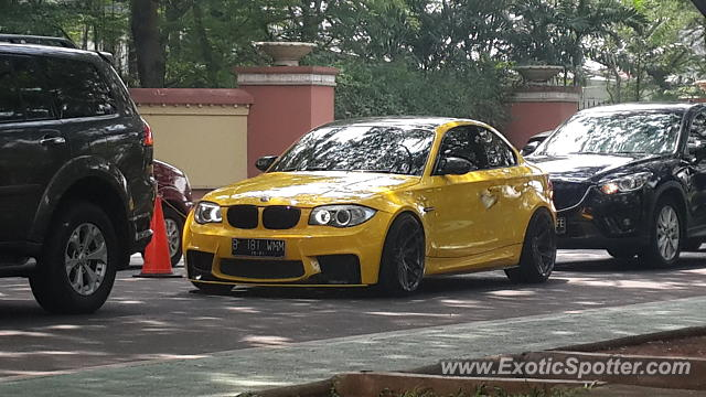 BMW 1M spotted in Tangerang, Indonesia